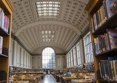 Reading Room, Doe Library, UC Berkeley | by Nfielden