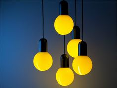 Silicone pendant lamp O! by Martinelli Luce | design DesignLab