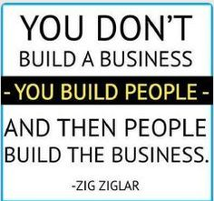 You don't build a business and then people build the business… http://www.NancyBadillo.com
