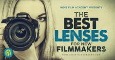 Building a collection of lenses. A list of the best lenses for new filmmakers.