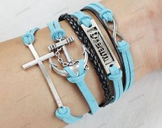 blessed bracelets,anchor bracelets,cross bracelets,infinite bracelets, mom children bracelets,birthday gifts,mens bracelets313