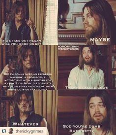 Daryl and Jesus meme
