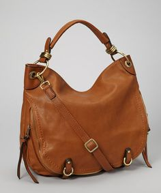 Take a look at this Camel Zipper Hobo by David Jones on #zulily today!