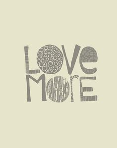 love more #typography