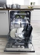 """Can you dishwasher fit a cookie sheet this size? ASKO's D5894XXL has usurpassed loading flexibility - up to 15 1/4"""" clearance!  - I need two, possibly 3"""