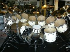 12 Piece Drum Kit