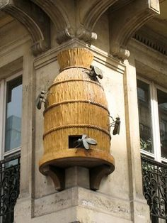 Paris...bee architectural detail