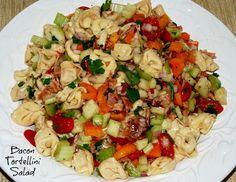 Living Rancho Delux: Bacon Tortellini Salad