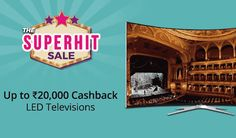 Browse freecouponcodes.co.in to use paytmmall coupons to get  upto Rs. 20,000 cashback on LED TVs ,electronics applicances sale  @ paytmmall.com  to  shop Best Deals Of Large Appliances  for tv, laptop,  Mobiles ,Mixer Grinders ,Refrigerators ,Power Banks,Hard Drives ,Kindle|Upto 22% Cashback.