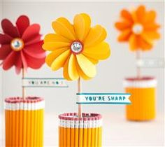 Recycle your soup cans to make this adorable craft!