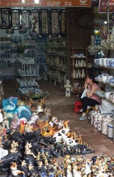 Visit the Ancient Village of Bat Trang, Vietnam, Where Everyone Makes Pottery