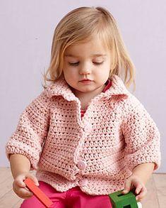 Free will be awesome to make with bernat pipsqueak yarn kc free pattern ravelry soft pink crocheted raglan jacket pattern by lion brand yarn fandeluxe Gallery