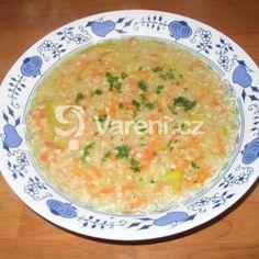 Levná pohanková polévka recept - Vareni.cz Baby Food Recipes, Soup Recipes, Cheeseburger Chowder, Quinoa, Ale, Curry, Gluten Free, Yummy Food, Ethnic Recipes