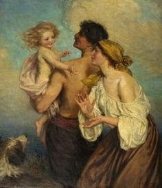 The Family - George Percy Jacomb-Hood - The Athenaeum
