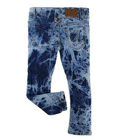 Vicious Wear Blue Bleachy Pants - Toddler & Boys by Vicious Wear #zulily #zulilyfinds