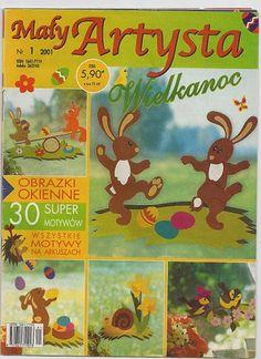 Maly Artysta - jana rakovska - Álbuns da web do Picasa Magazine Crafts, Paper Towel Rolls, Magazines For Kids, Tag Photo, Album, Diy Crafts For Kids, Easter Crafts, Paper Cutting, Techno