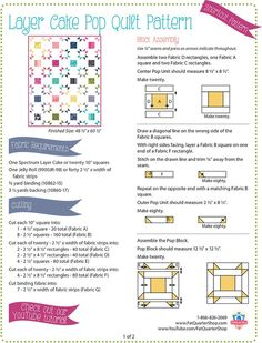 Coming of age: ten years of next-generation sequencing technologies Layer Cake Quilt Patterns, Layer Cake Quilts, Jelly Roll Quilt Patterns, Fabric Squares, Quilt Block Patterns, Pattern Blocks, Quilt Blocks, Patchwork Patterns, Patch Quilt