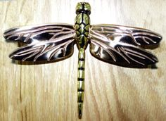 Charming Cool Dragonfly Door Knocker