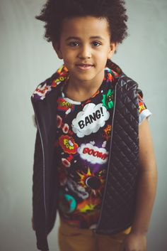 COMICS tshirt -> oopswear.com #tshirt #comics #boy #kids #fashion #bang #boom #oops