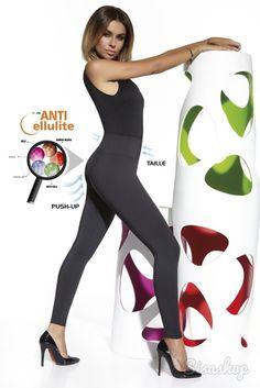 Anticelulitídne push-up legíny Candy 300DEN