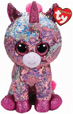 Ty Uk Flippable Sequin Unicorn Toy Harrods, the world's most famous department store online with the latest men's and women's designer fashion, luxury gifts, food and accessories Ty Toys, Kids Toys, Ty Peluche, Ty Stuffed Animals, Halloween, Ty Beanie Boos, Beanie Babies, Unicorn Birthday Parties, Luxury Gifts