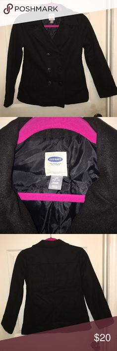 Girl's Old Navy Pea Coat Girl's Old Navy Pea Coat- Size 10/12: EUC! This coat was only worn a few times. There are no tears or stains. It fits true to size and comes from a smoke free home. Old Navy Jackets & Coats Pea Coats