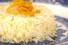 Receita de Arroz ao molho de laranja e ervas finas - Comida e Receitas