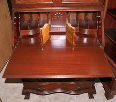 english slant front desk completed furniture desks secretaries | antique secretary secretary 19 click here to view all of desks