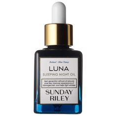 Tomorrow's beauty on Sephora's radar today: Sunday Riley's Luna Sleeping Night Oil reduces the appearance of lines and wrinkles while simultaneously correcting damage caused by the sun, time, and pollution. #SephoraFinds