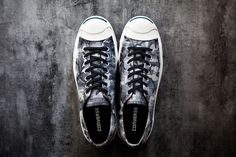 Converse 2013 Fall/Winter Jack Purcell Black + White Camo