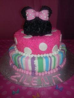 Minnie mouse cake♡