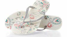 Havaianas Womens Havaianas Slim Season Flip Flops - Classic flip flops My Wardrobe, Me Too Shoes, Flip Flops, Coral, Slim, Seasons, Free Uk, Sandals, Classic