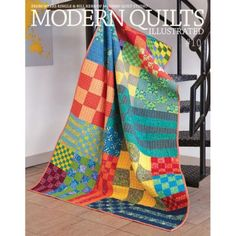 Modern Quilts Illustrated by Weeks Ringle and Bill Kerr from Modern Quilt Studio, available now! No link - look for the book Sampler Quilts, Scrappy Quilts, Easy Quilts, Amish Quilts, Star Quilts, Quilt Studio, Quilt Festival, Patch Quilt, Quilt Blocks
