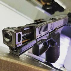 USA Gun Shop - The Best Handguns, Rifles, Shotguns and Ammo online Custom Glock, Custom Guns, Weapons Guns, Guns And Ammo, Glock Mods, Agency Arms, Zombie Gear, Best Handguns, Best Pocket Knife
