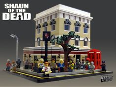 Shaun of the Dead Lego set! That would have been awesome, but Lego turned it down :( Not age appropriate. But still way cool!