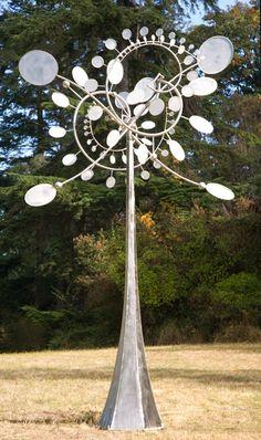 wind sculptures #metalwork www.travers.com