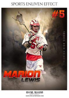 Marion Lewis Lacrosse Sports Template Enliven Effects Photoshop Pics, Photoshop For Photographers, Photoshop Photography, Photoshop Actions, Team Photography, Lacrosse Sport, Lacrosse Quotes, Sports Templates, Senior Pictures Boys
