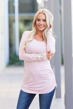 Flatter Me Lace Tunic – Boutique Amore