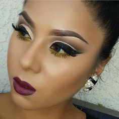 the most beautiful makeup i've ever seen.