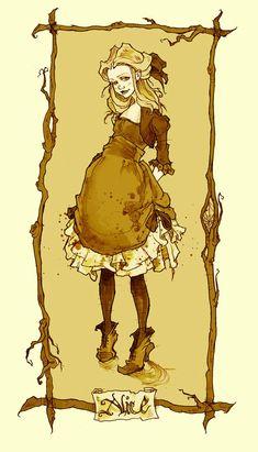 Alice Portrait by *AbigailLarson on deviantART