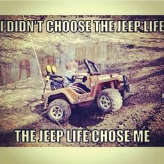 I love jeeps! maybe this was what got me started