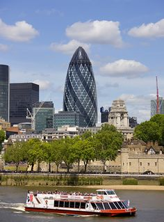 The Gherkin #london #mustsee #accorcityguide The nearest Accor hotel : ibis London City