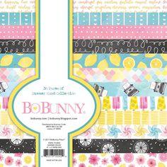 "BoBunny Summer Mood Paper Pad 6x6"" www.papercrafts.ch"