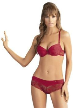 Laura Red Bra Boyshort Set #SL101077-104077 SET 34B-M Laura. $33.95