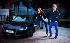 Audi R8 Shooting in der Hafencity in Hamburg – Miss Hamburg Wahl 2013 powered by KLEIDUNG.COM
