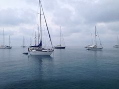 Foto de Marce Morales - Concurso Duscholux. #velero #boat #sea #mar #marinero