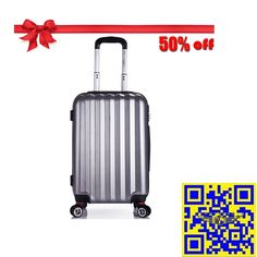 The 2015 largest discount! 12.16—12.31 Christmas sales! All luggage suitcases in E-bay American site with 50% off! Don't miss it!! http://stores.ebay.com/shxq2015 http://www.ebay.com/itm/Cabin-Luggage-Suitcase-4-Wheels-ABS-Hard-Shell-Trolley-Silver-20-inch-Xmas-Sale-/252136404981?