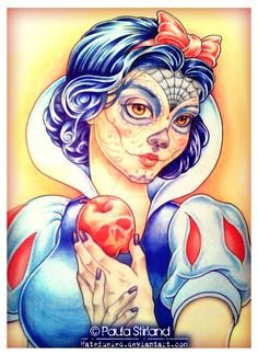 Snow White by Paula Stirland [©2013]