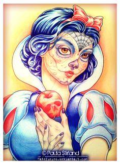 Snow White by Paula Stirland [©2013-2016 hatefueled]