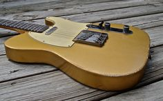 gold telecaster - Google Search